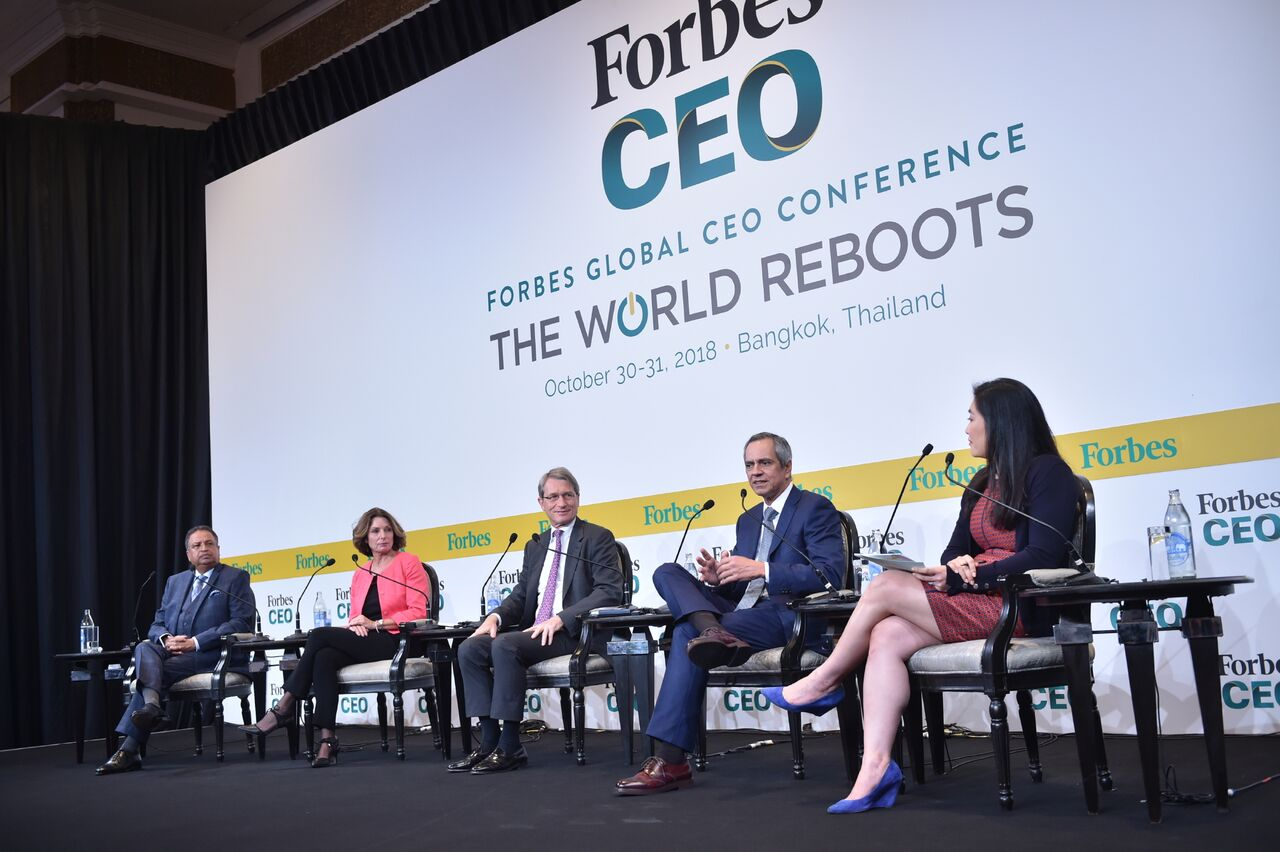 Forbes Global CEO Panel with Carrie Jones Barber