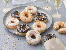 Quick and easy donut icing with new Dawn Dip Quik