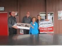 Dawn Team Members Deliver Sweetness to Mary's Kitchen