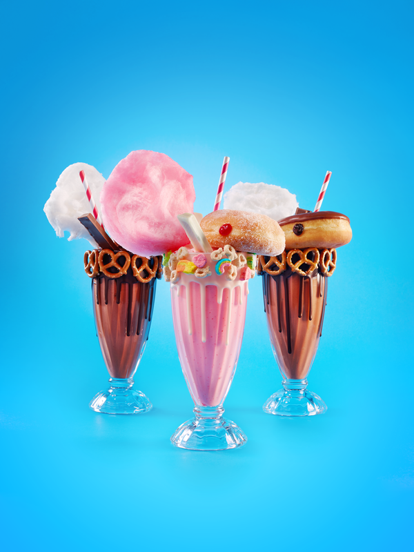 Sweet and salty milkshakes