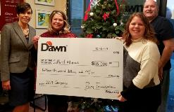 Dawn Foods Contributes $15,000