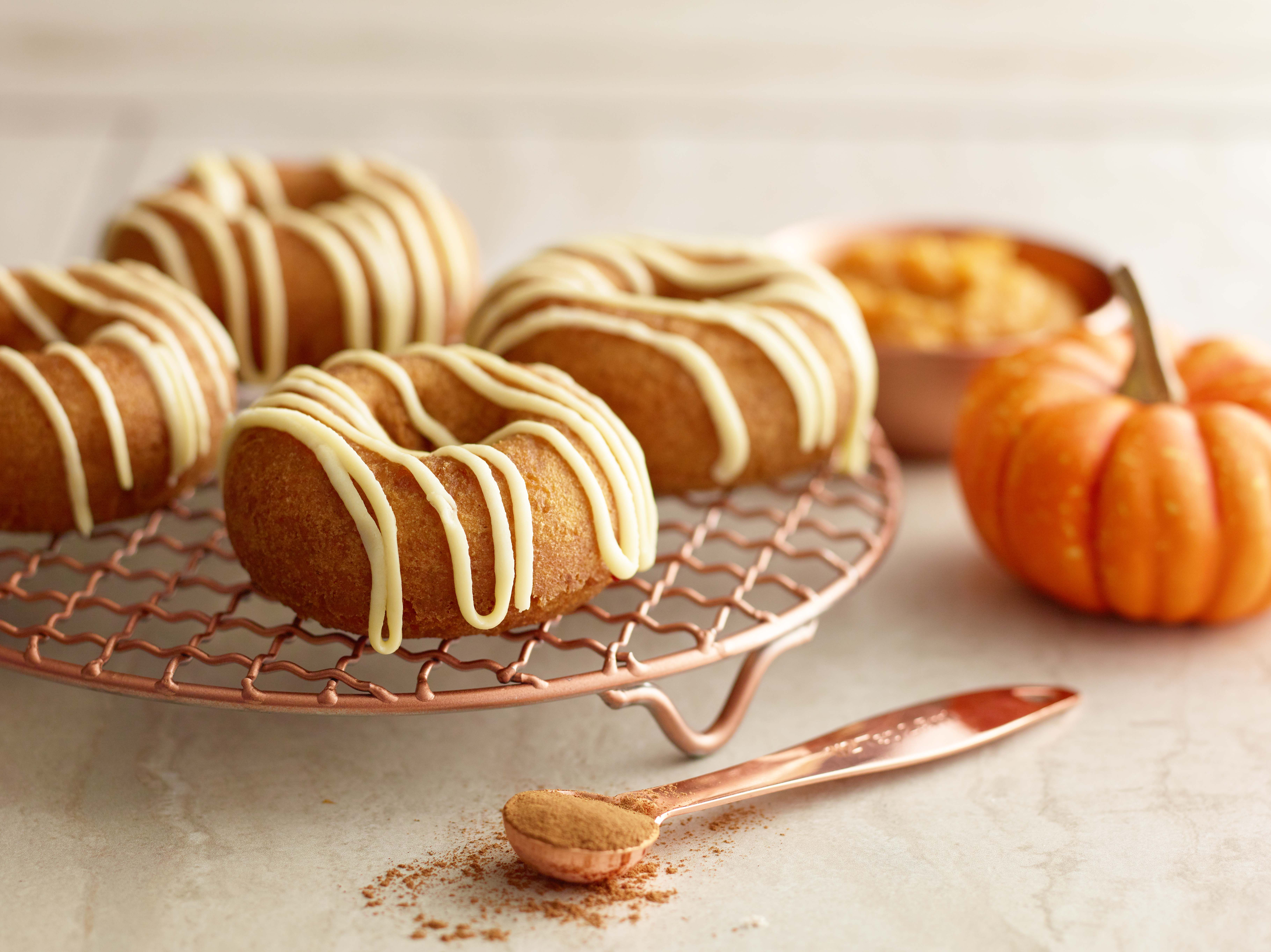 Dawn Exceptional Majestic Pumpkin Cake Donut Mix