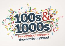 Hundreds of Bakers Win So Far in Dawn's 100s & 1000s Promotion